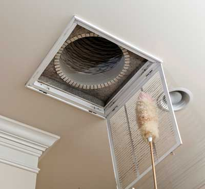 cleaning ac vent