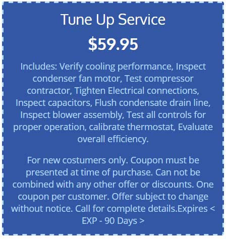 AC Tune-up offer in Boca Raton