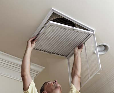 AC filter cleaning in Boca Raton