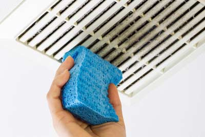 cleaning air vents
