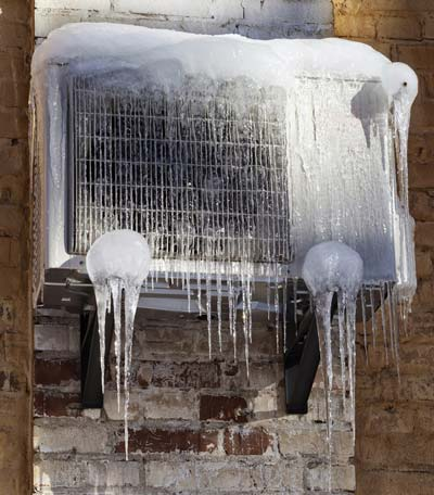 tips to de-ice a AC unit